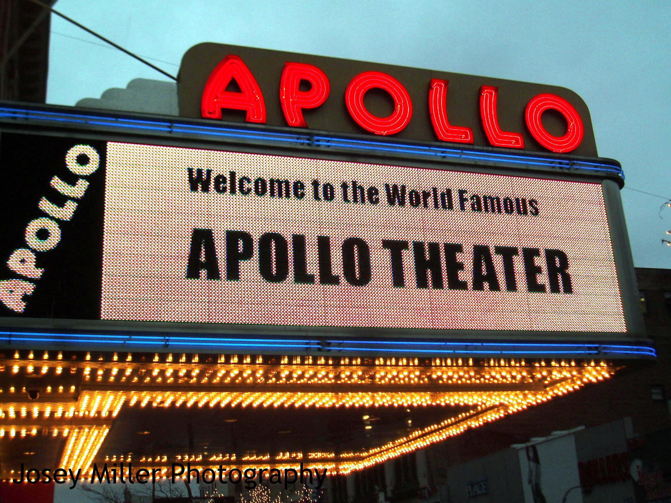 Harlem renaissance apollo theater
