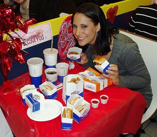 valentine's day at white castle | josey miller, Ideas