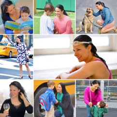 Josey Miller lifestyle photo collage